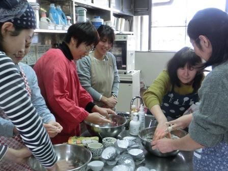 パン作り教室