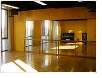 レッスンスタジオ